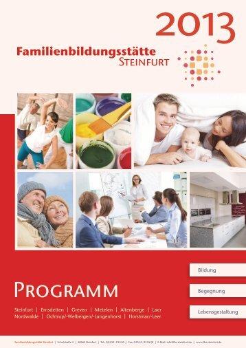 Programm - Familienbildungsstätte Steinfurt