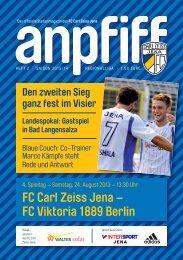 FC Carl Zeiss Jena – FC Viktoria 1889 Berlin