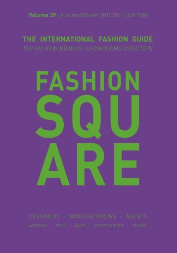 the international fashion guide - Fashion Square
