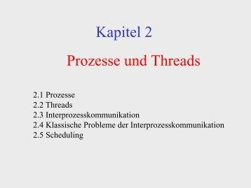 Prozesse und Threads