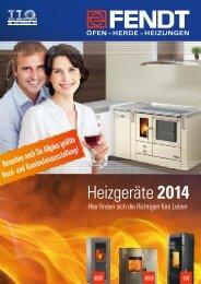 Der Heizgeräte Katalog 2014 - Eisen Fendt GmbH