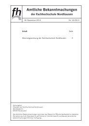 16/2013 - Fachhochschule Nordhausen