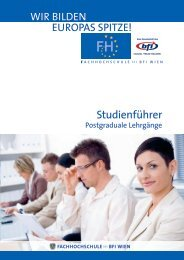 Studienführer Postgraduale LG (PDF, 587,44 kB) - Fachhochschule ...