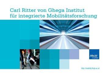 Carl Ritter von Ghega Institut für integrierte ... - FH St. Pölten