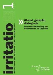 irritatio 2009 - Forum Hochschule und Kirche