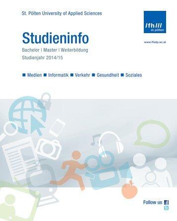 Studieninfo - FH St. Pölten