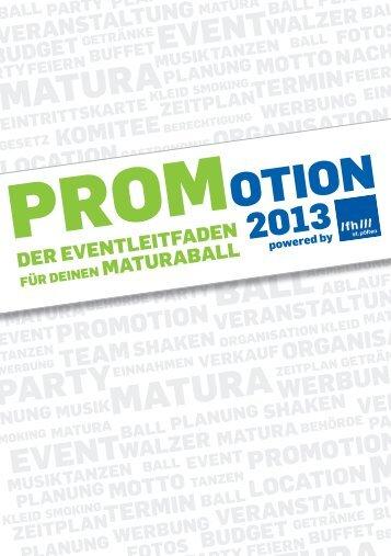 PROMOTION - Fachhochschule St. Pölten