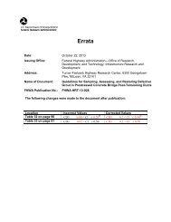 Errata - Federal Highway Administration - U.S. Department of ...