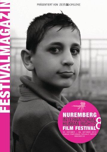 Festivalzeitung als PDF - Filmfestival der Menschenrechte