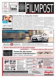 Ausgabe 4 vom 22. Januar 2014 - auf filmpost.de
