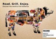 MEDIA- InforMAtIon 2014 - Fire & Food