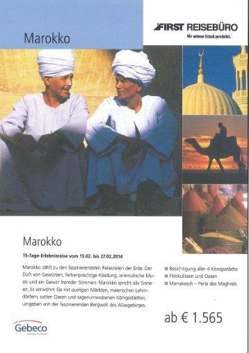 pdf ausschreibungmerokko mit RA website - First Reisebüro