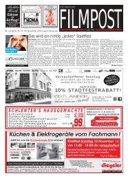 Ausgabe 45 vom 6. November 2013 - auf filmpost.de