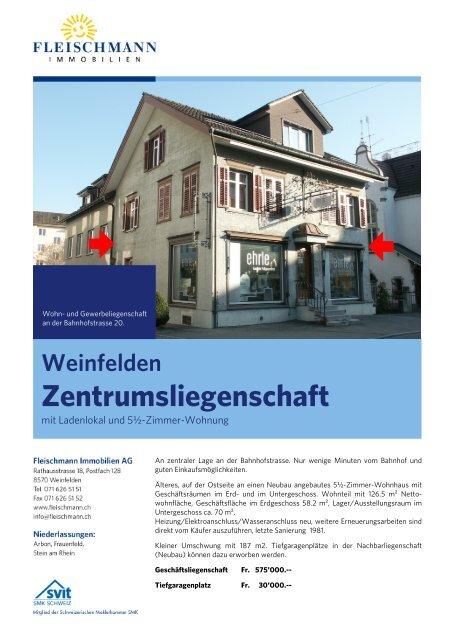 Objektdossier (7 MB) - Fleischmann Immobilien AG