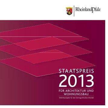 STAATSPREIS - Finanzministerium Rheinland-Pfalz