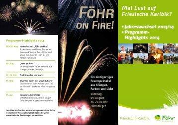 on Fire! on Fire! - Föhr