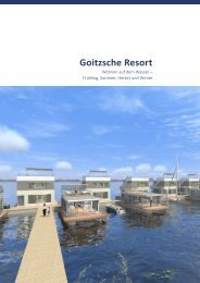 Expose Goitzsche Resort Stand 11 2013 - Floating Houses
