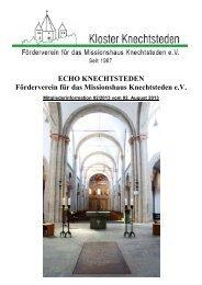 ECHO 2-2013 vom 02. August 2013 - Förderverein für das ...