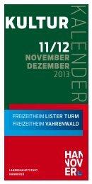 Zum Programmheft November/Dezember 2013 - Freizeitheimes ...