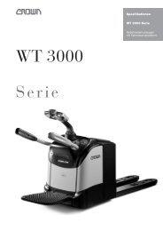 WT 3000 Serie - Forklift