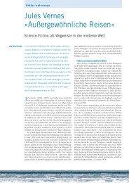 Jules Vernes - Forschung Frankfurt - Goethe-Universität