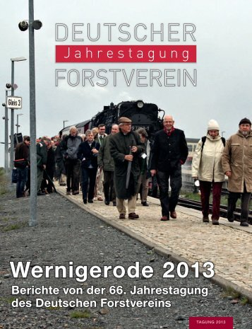 Berichtsheft als pdf-Date - Deutscher Forstverein