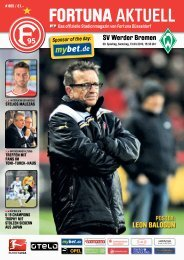 Download (pdf/15.4 MB) - Fortuna Düsseldorf 1895