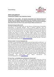PM Jubiläen 2014 Fränkische Schweiz - Die Fränkische Schweiz