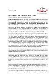 Benzin im Blut und frische Luft in der Lunge - Die Fränkische Schweiz