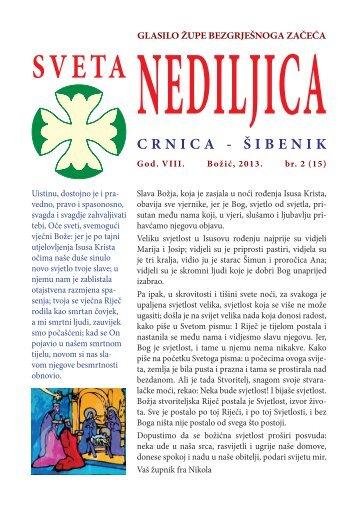 CRNICA - ŠIBENIK