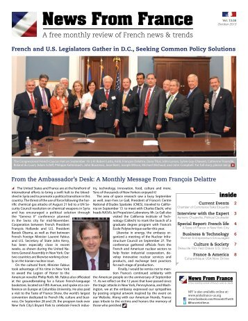 October, 2013 - Embassy of France in Washington, DC