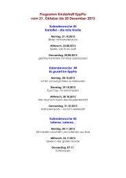 Programm Kindertreff EppFlo vom 21. Oktober bis 20 ... - Frankenthal