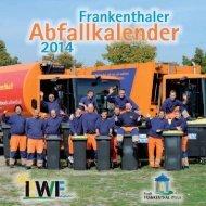 Abfallkalender 2014 - Frankenthal