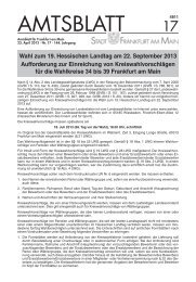 Amtsblatt Nr. 17/2013 S. 477 - 516 (pdf, 5.0 MB) - Frankfurt am Main