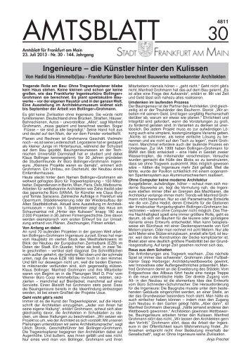 Amtsblatt Nr. 30/2013 S. 881 - 904 (pdf, 4.4 MB) - Frankfurt am Main