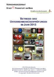 Firmenkontrollen (pdf, 1.4 MB) - Frankfurt am Main