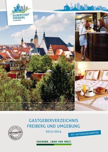 GastGeberverzeichnis FreiberG UnD UMGebUnG - Freiberg-Service