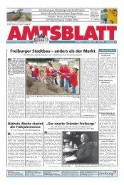 Freiburger Stadtbau – anders als der Markt - Stadt Freiburg im ...