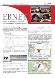 Informationsblatt der Ortsverwaltung - Stadt Freiburg im Breisgau