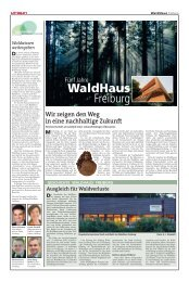 WaldHaus Freiburg - Stadt Freiburg im Breisgau