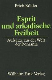 Esprit und arkadische Freiheit - FreiDok