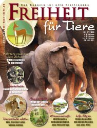 pdf-download Freiheit für Tiere 1/2014 - Magazin Freiheit für Tiere