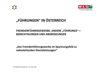 Präsentation Dr. Vögl als PDF runterladen - Die Fachgruppe Wien ...