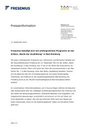 Text als PDF-Dokument - Fresenius SE & Co. KGaA