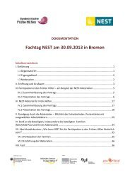 Dokumentation Fachtag NEST Bremen - Nationales Zentrum Frühe ...