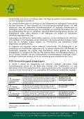 Vermarktungsstrategien für FSC-Waldholz ... - FSC-Deutschland - Page 3