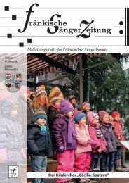 FSZ 1/2014 - Fränkischer Sängerbund