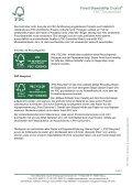 bei FSC grundsätzlich nur die Rohstoffherkunft ... - FSC-Deutschland - Page 2
