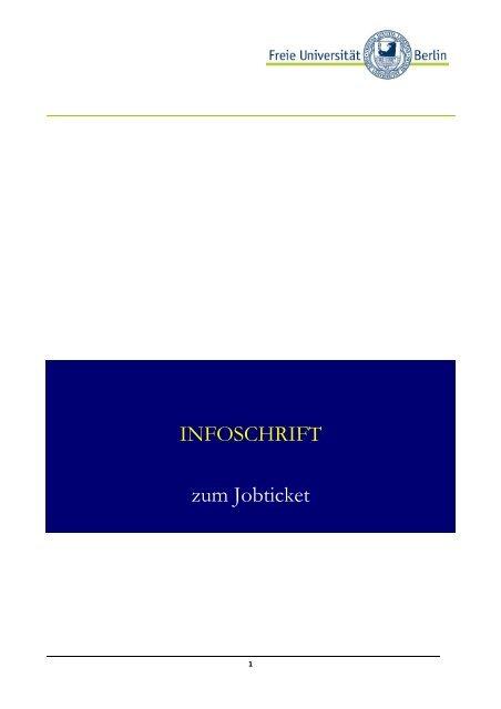 Broschüre - Freie Universität Berlin
