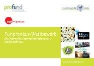 Funpreneur-Wettbewerb - Freie Universität Berlin